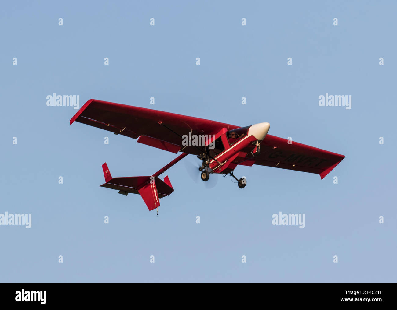 Shadow Series CD Ultralight Aircraft G MVRT   Stock Image