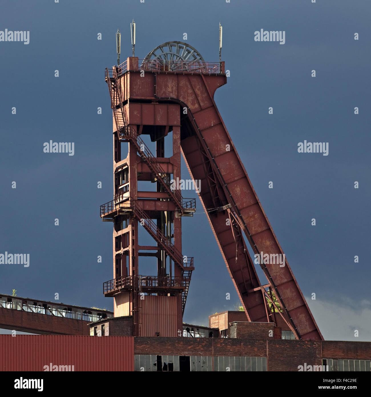 Colliery Schlaegel and iron, Herten, Germany - Stock Image