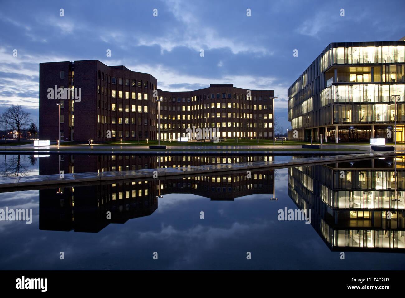 Headquarters TyssenKrupp, Essen, Germany - Stock Image
