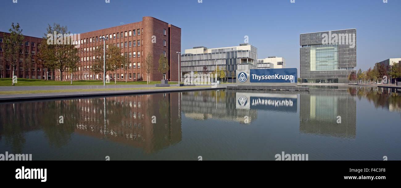 Headquarters TyssenKrupp, Essen, Germany Stock Photo