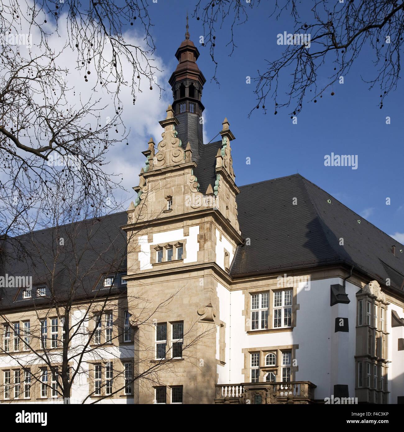 School Petrinum, Recklinghausen, Germany Stock Photo