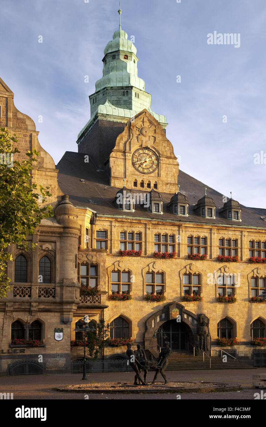 Town Hall, Recklinghausen, Germany - Stock Image