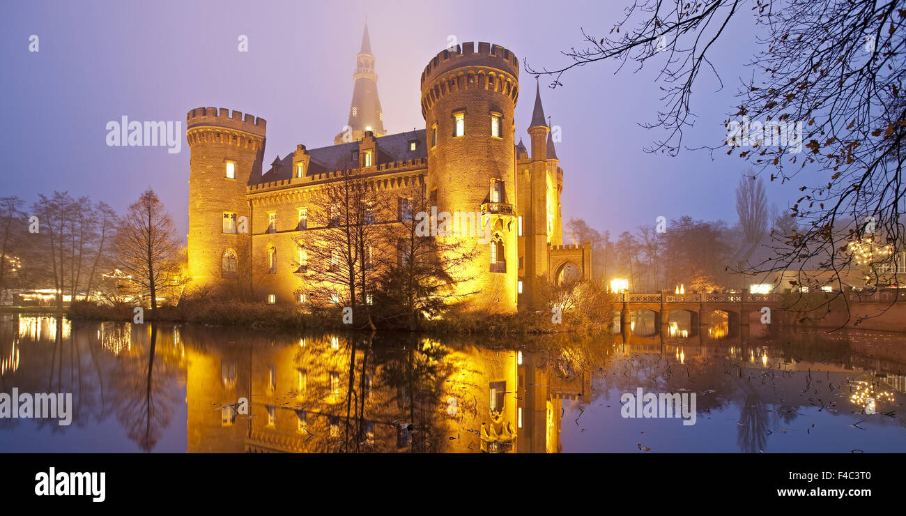 Castle Moyland, Bedburg-Hau, Germany - Stock Image