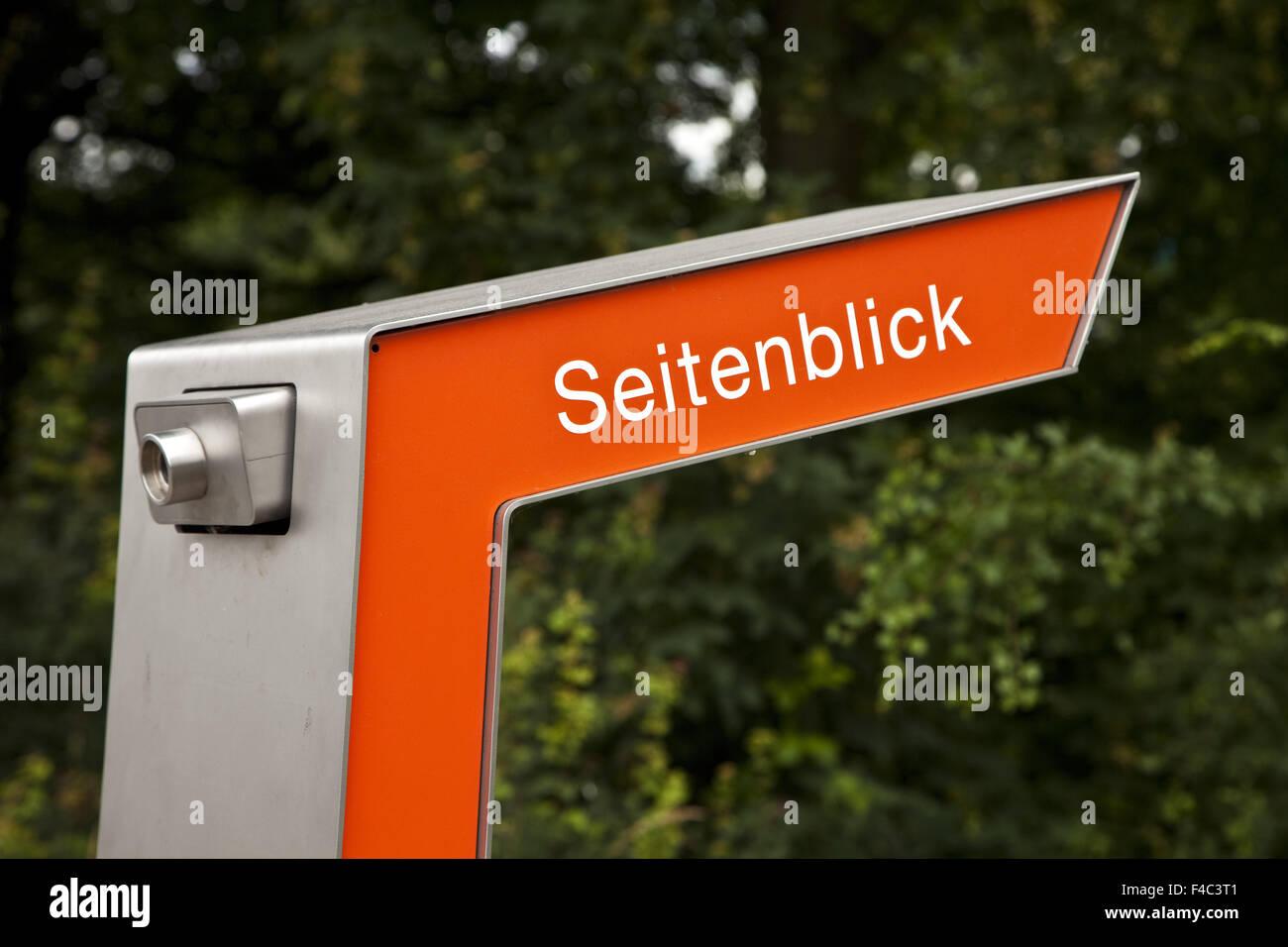 Emscherkunst, Recklinghausen, Germany - Stock Image