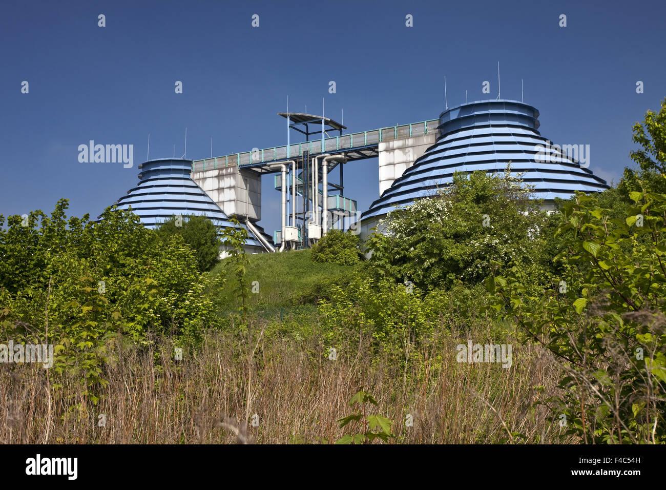 Treatment plant, Kamen, Germany - Stock Image