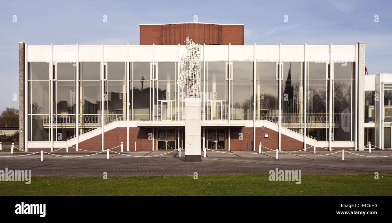 Heinz Hilpert theater, Luenen, Germany - Stock Image