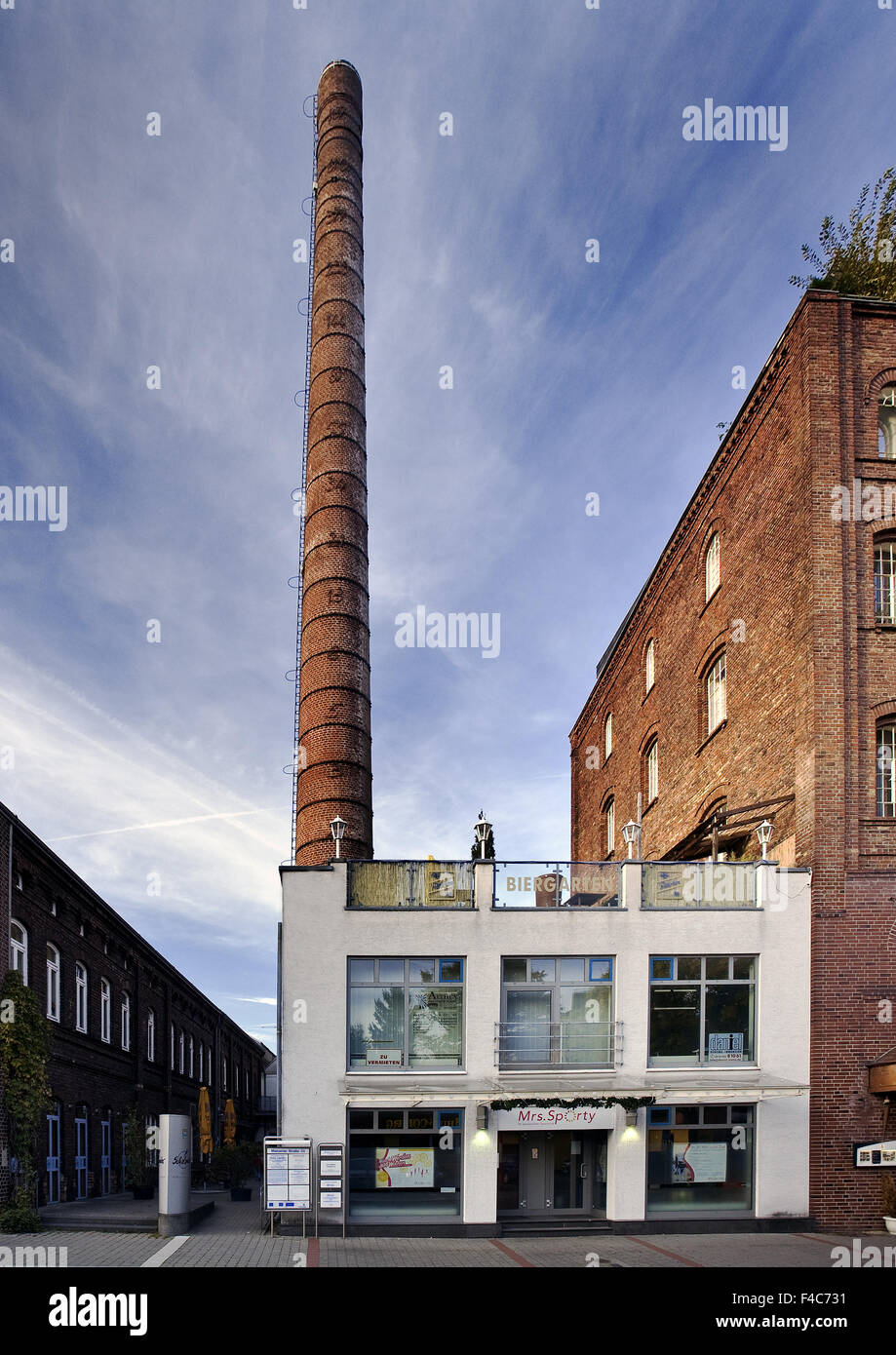 Linden Brewery, Unna, Germany - Stock Image