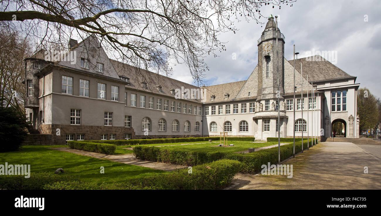 Town Hall, Schwerte, Germany - Stock Image