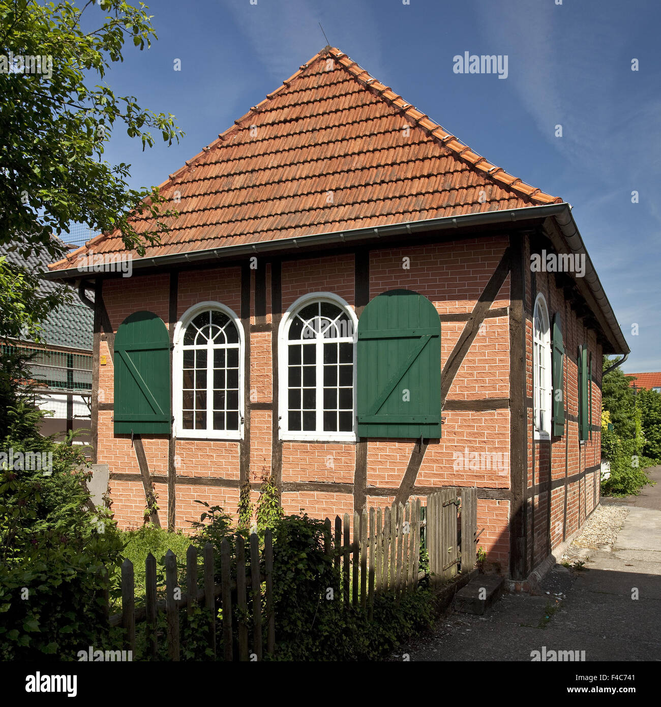 Country synagogue, Selm, Germany - Stock Image