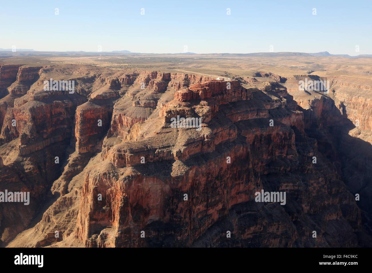 Grand Canyon Luftbild - Stock Image