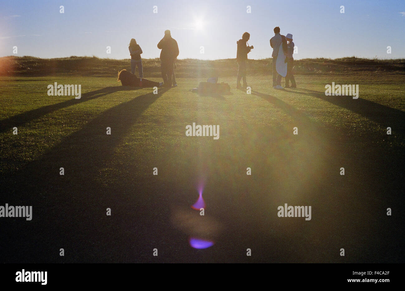 Teenagers Golf Course Stock Photos & Teenagers Golf Course Stock ...