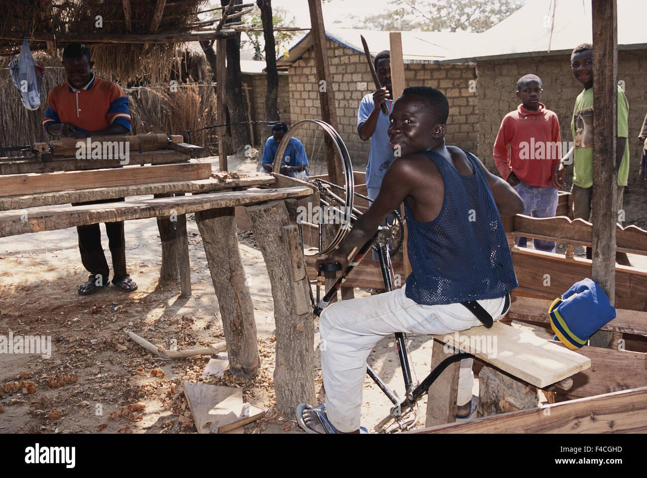 Tanzania, Refugee Camp, Carpenter Work  (Large format sizes