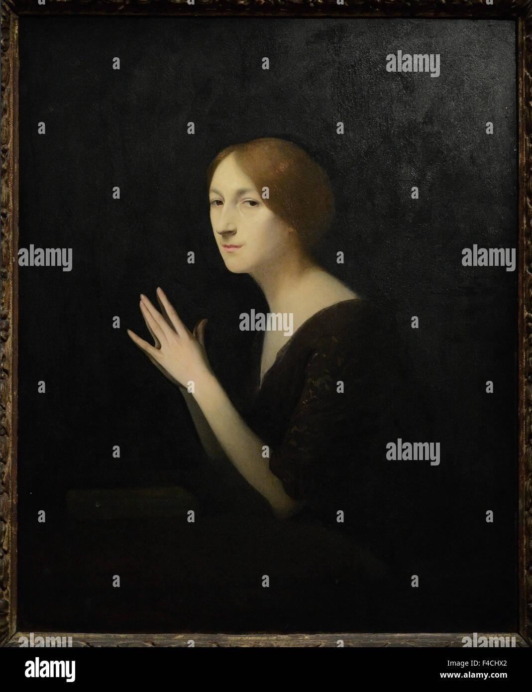 Joseph Granié - Marguerite Moreno - 1899 - Orsay Museum - Paris - Stock Image