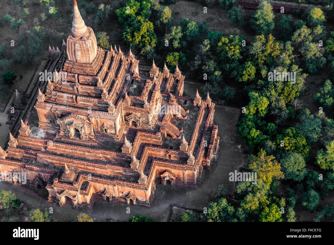 Temple in Bagan Myanmar - Stock Image