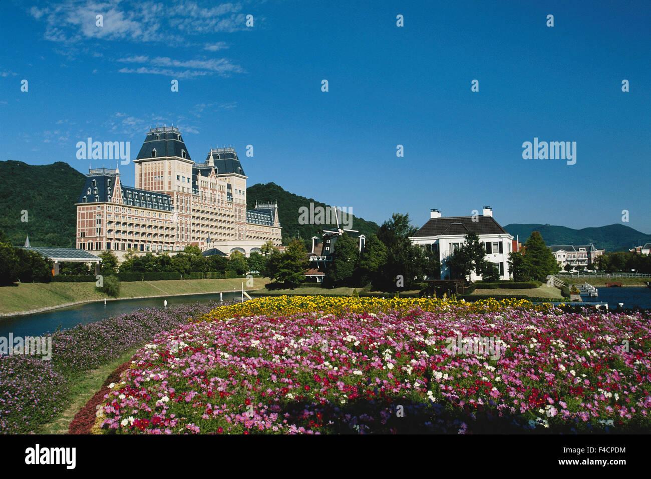 Japan, Kyushu, Nagasaki, Sasebo, Huis ten Bosch  Hotel at