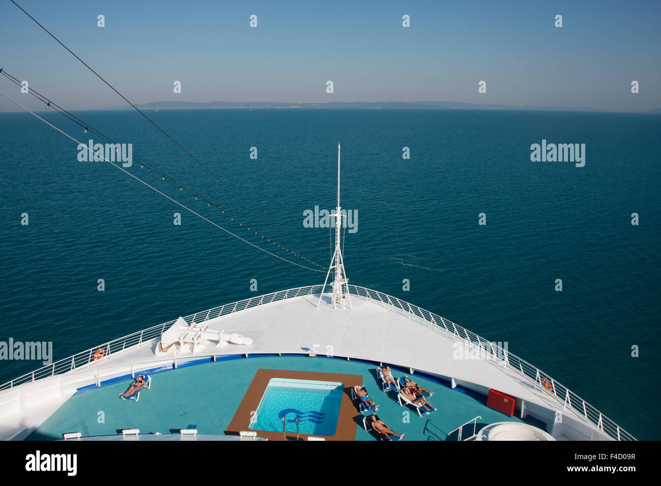 Australia, Kimberly Coast. Cruising the Indian Ocean, Dawn Princess off the uninhabited remote countryside of the - Stock Image