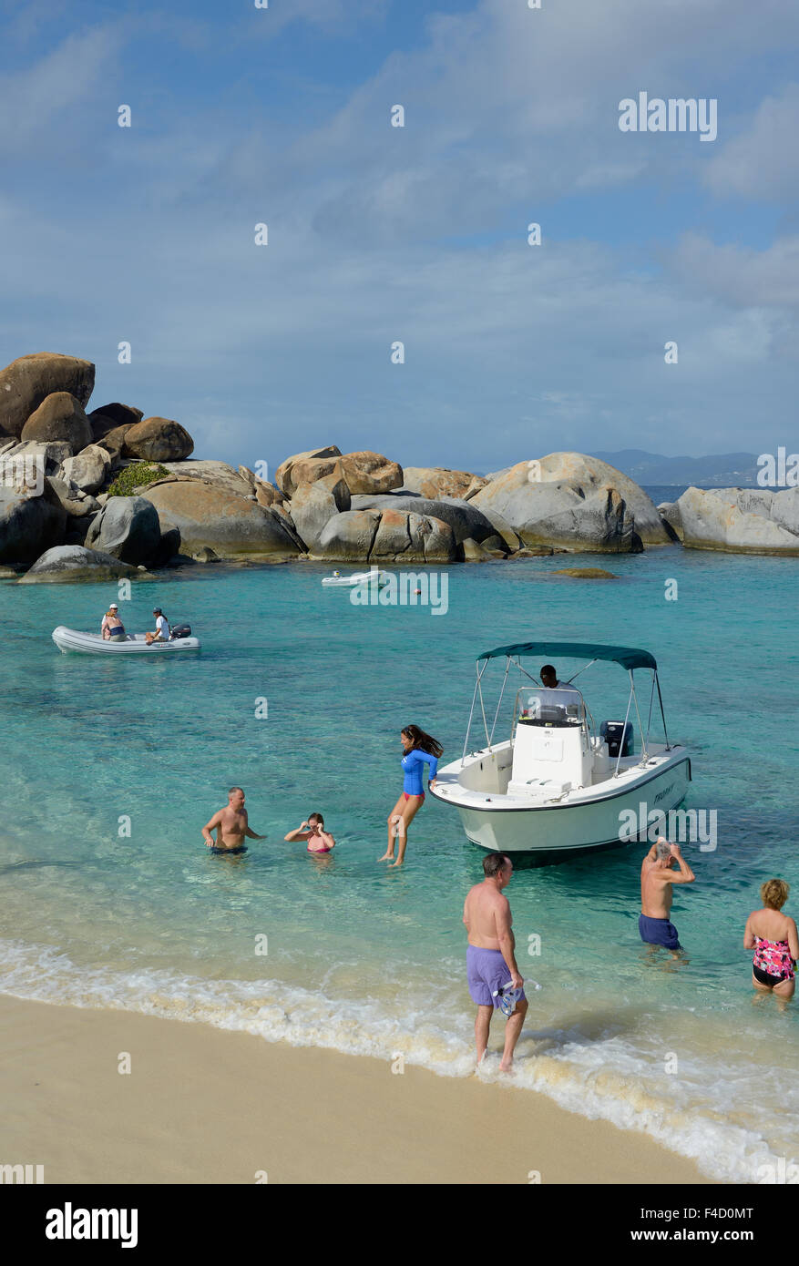 Caribbean, British Virgin Islands, Virgin Gorda. Snorkeling and ...