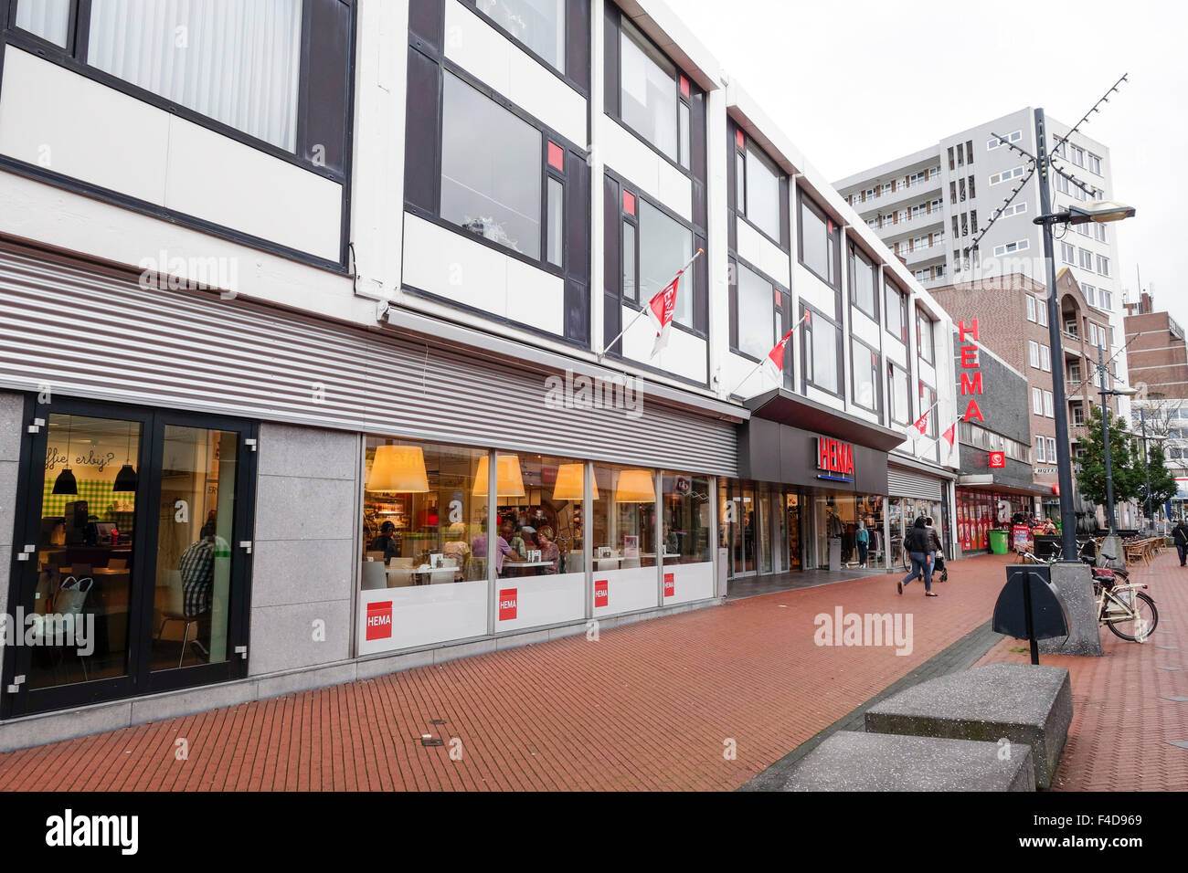 Hema department store building, Brunssum, Netherlands Stock