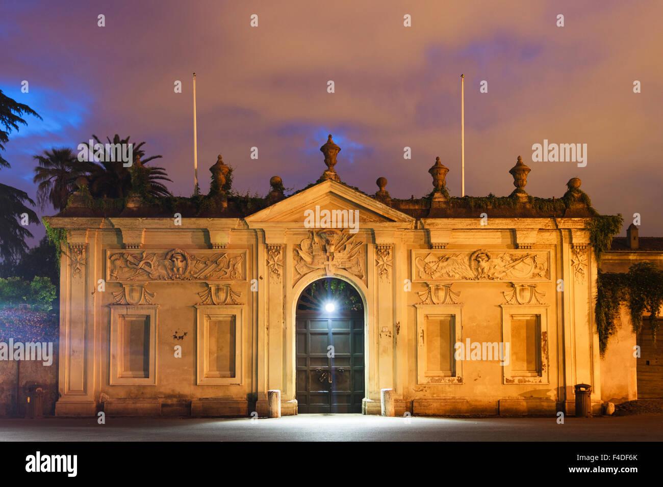 Villa del Priorato di Malta. Piazza dei Cavalieri di Malta. Rome Italy - Stock Image