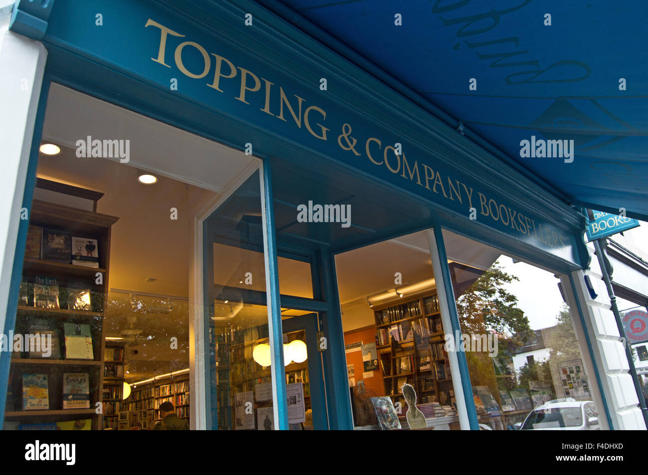 Topping & Company Booksellers St Andrews - Stock Image