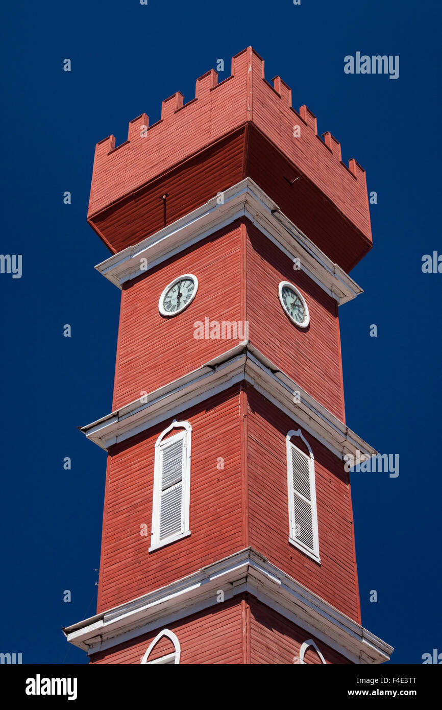 Chile, Elqui Valley, Vicuna, Torre Bauer tower. - Stock Image