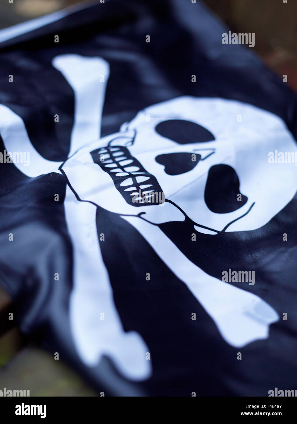 The Jolly Roger, Sweden. - Stock Image