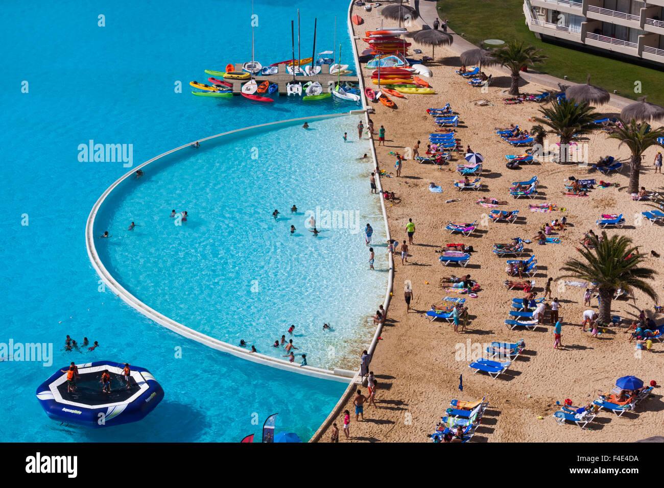 San alfonso del mar chile stock photos san alfonso del - San alfonso del mar resort swimming pool ...