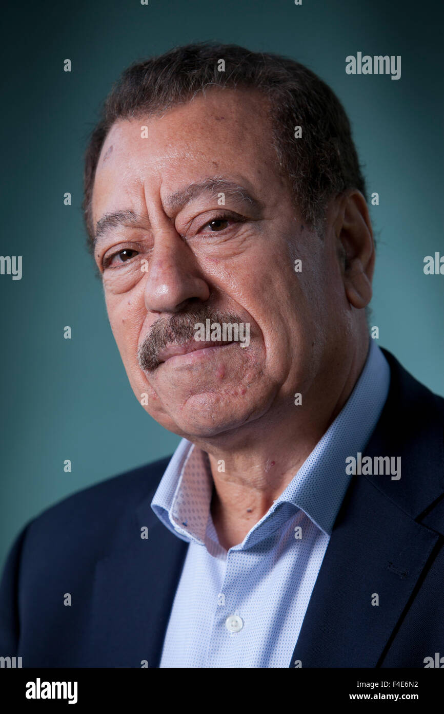 Abdel Bari Atwan, the editor-in-chief of Rai al-Youm, an Arab world digital news website, at the Edinburgh International - Stock Image