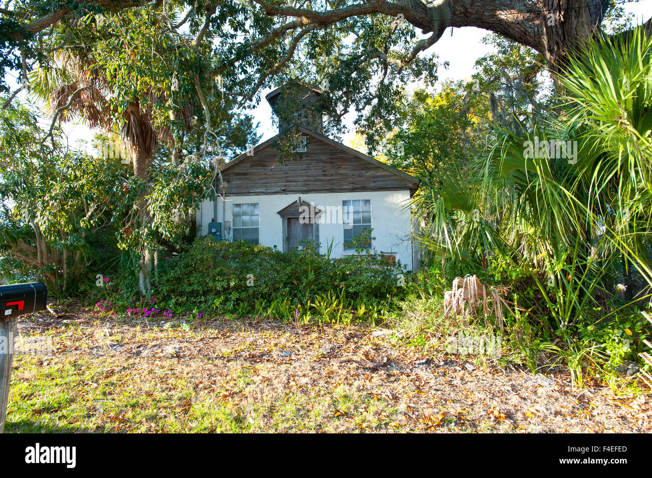 Awe Inspiring Usa Florida Cedar Key Old African American School Home Interior Design Ideas Ghosoteloinfo