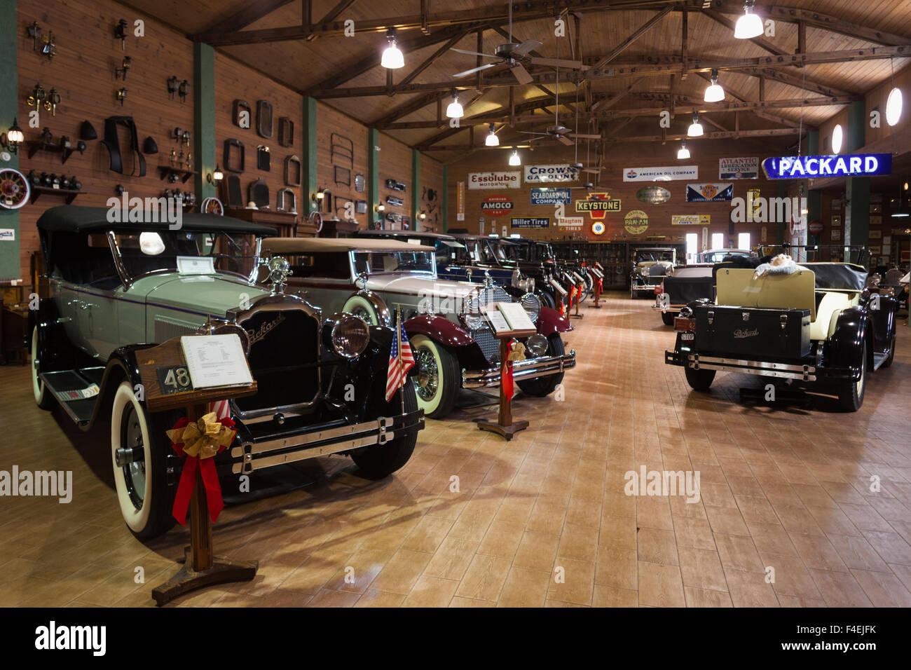 USA, Florida, Fort Lauderdale, Antique Car Museum