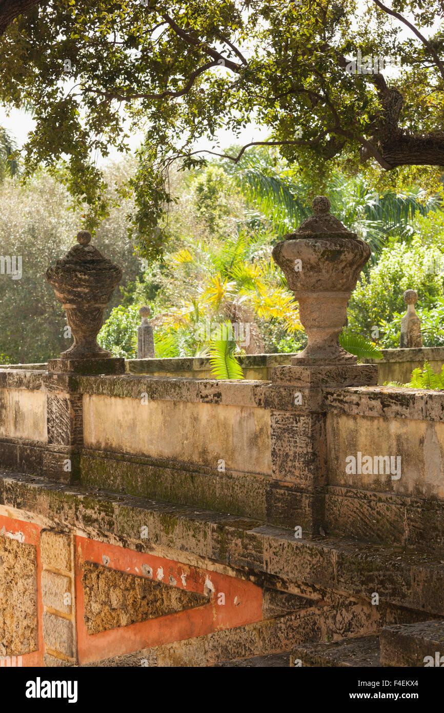 Miami Vizcaya Museum Gardens Stock Photos & Miami Vizcaya Museum ...