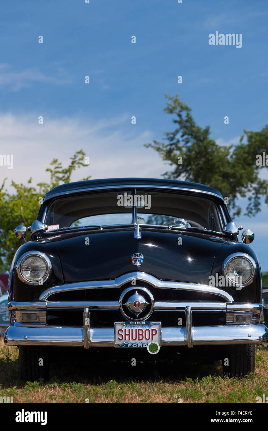 Massachusetts, Gloucester, Antique Car Show, 1950 Ford, Shu bop ...