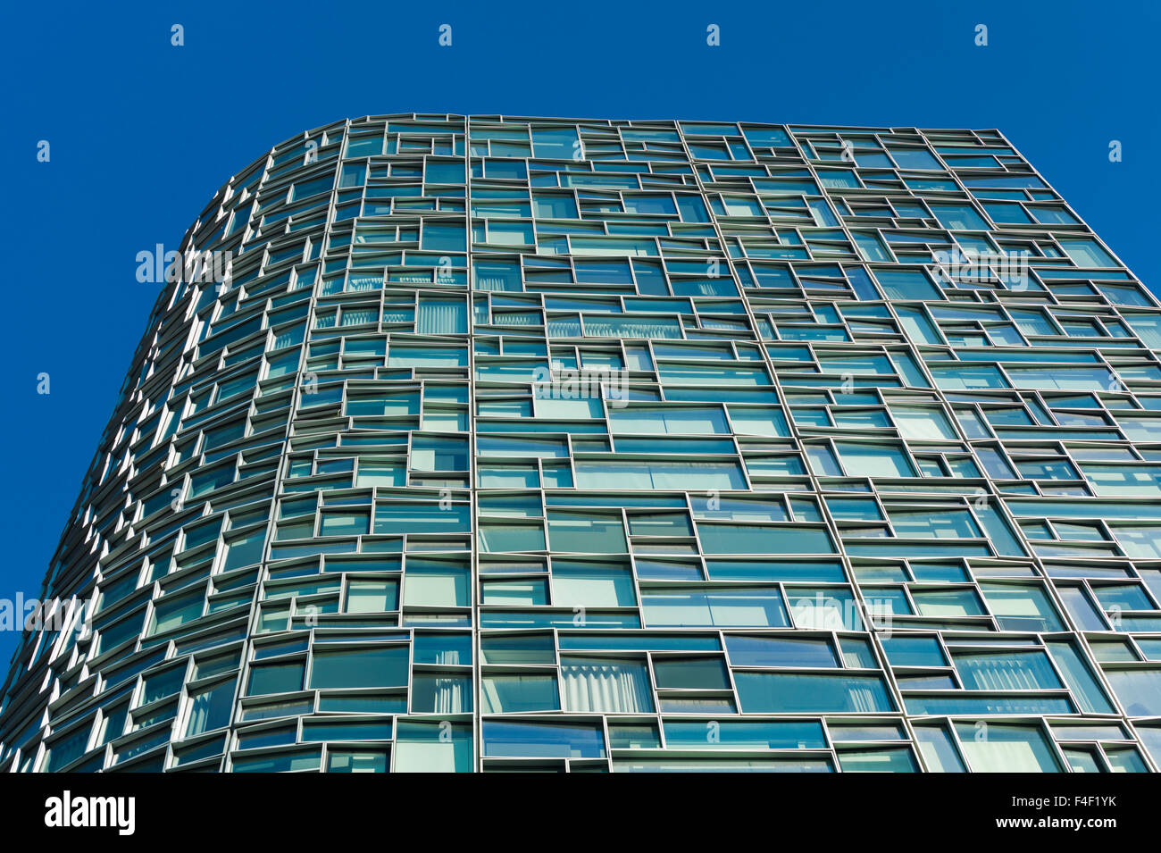 USA, New York, New York City, Lower Manhattan, 100 Eleventh Avenue Building, architect Jean Nouvel - Stock Image