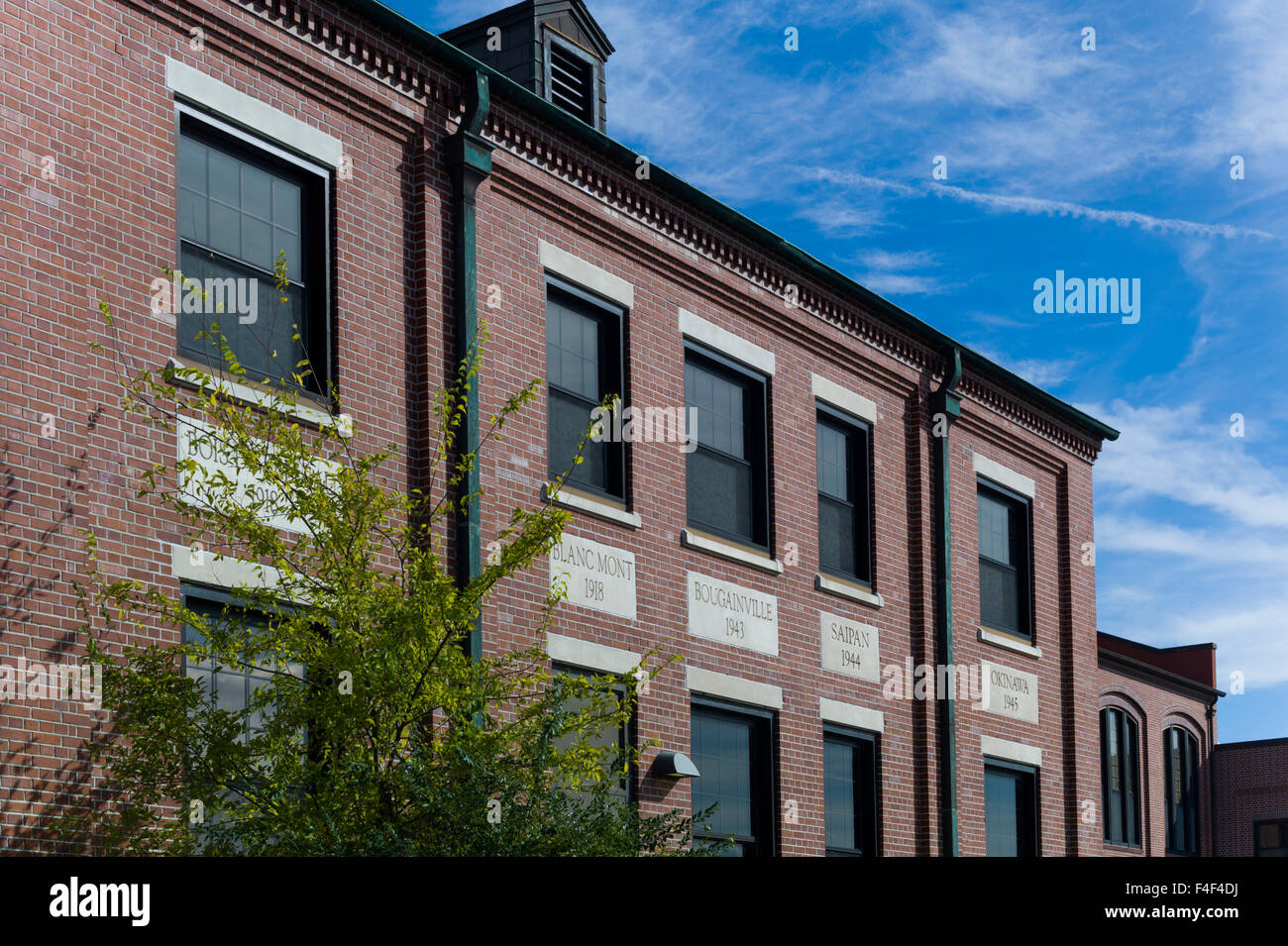 South Carolina, Parris Island USMC Base, US Marines Museum Parris Island, exterior - Stock Image