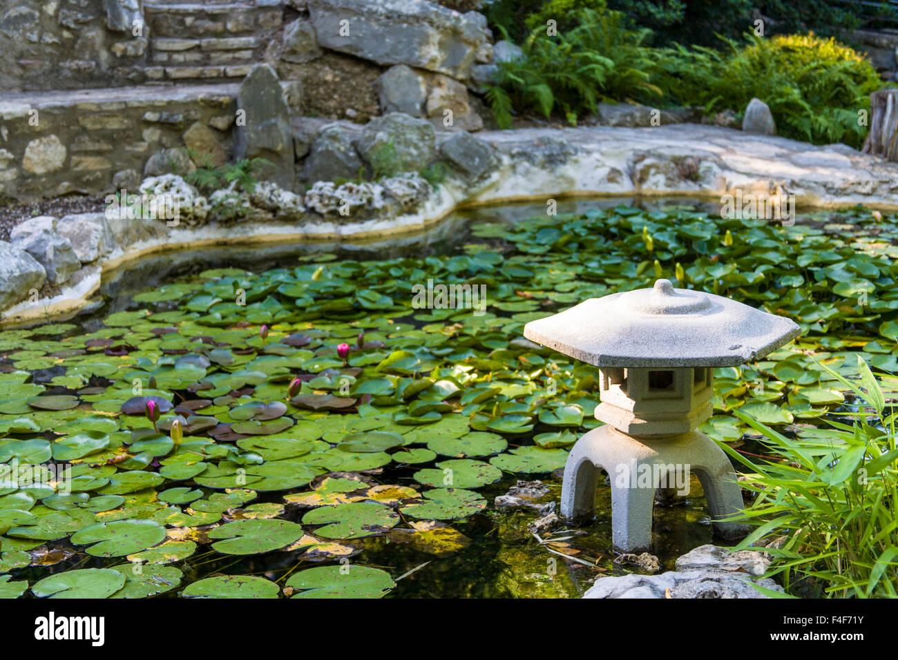 Zilker Botanical Garden Austin Stock Photos Zilker Botanical