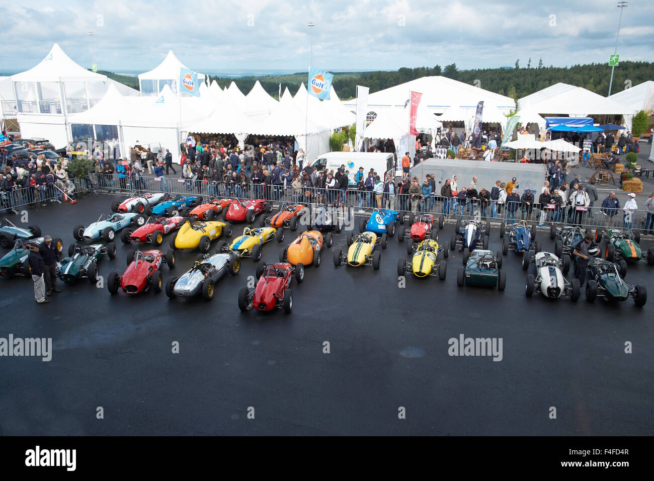 Formula Junior,42.AvD Oldtimer-Grand-Prix 2014 Nürburgring - Stock Image