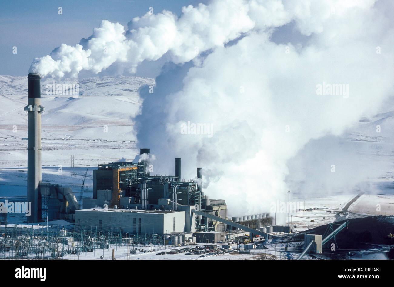 Wyoming Usa Coal Fired Power Plant Utah Power Amp Light