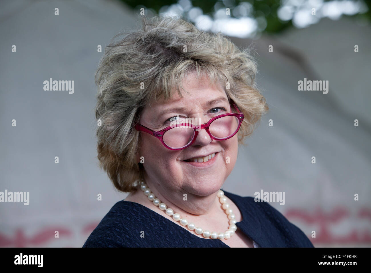 Professor June Andrews, FRCN, the Professor of Dementia Studies at Stirling University and author, at the Edinburgh - Stock Image
