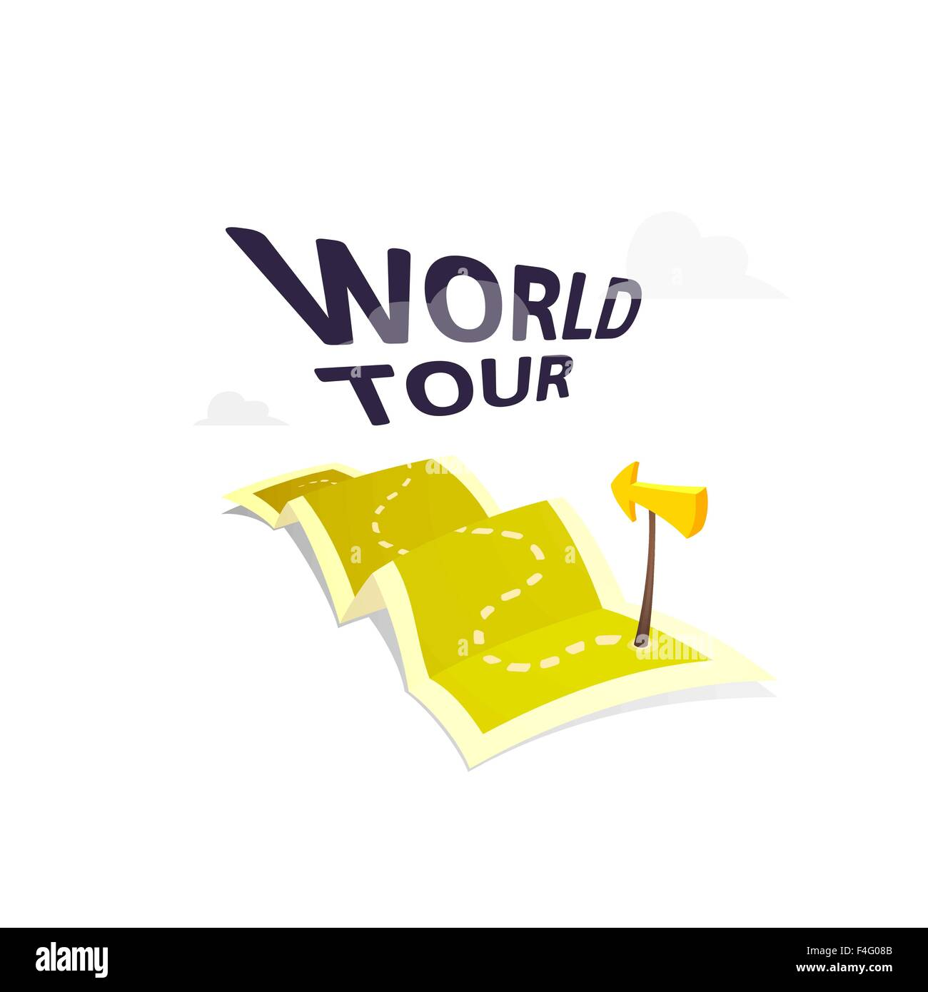 World tour concept logo isolated on white background long route in world tour concept logo isolated on white background long route in travel map with guide marker gumiabroncs Image collections