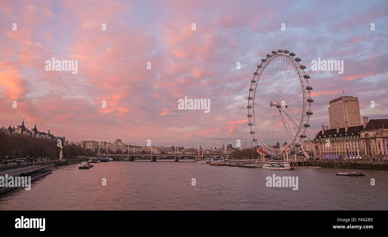 London eye - Stock Image