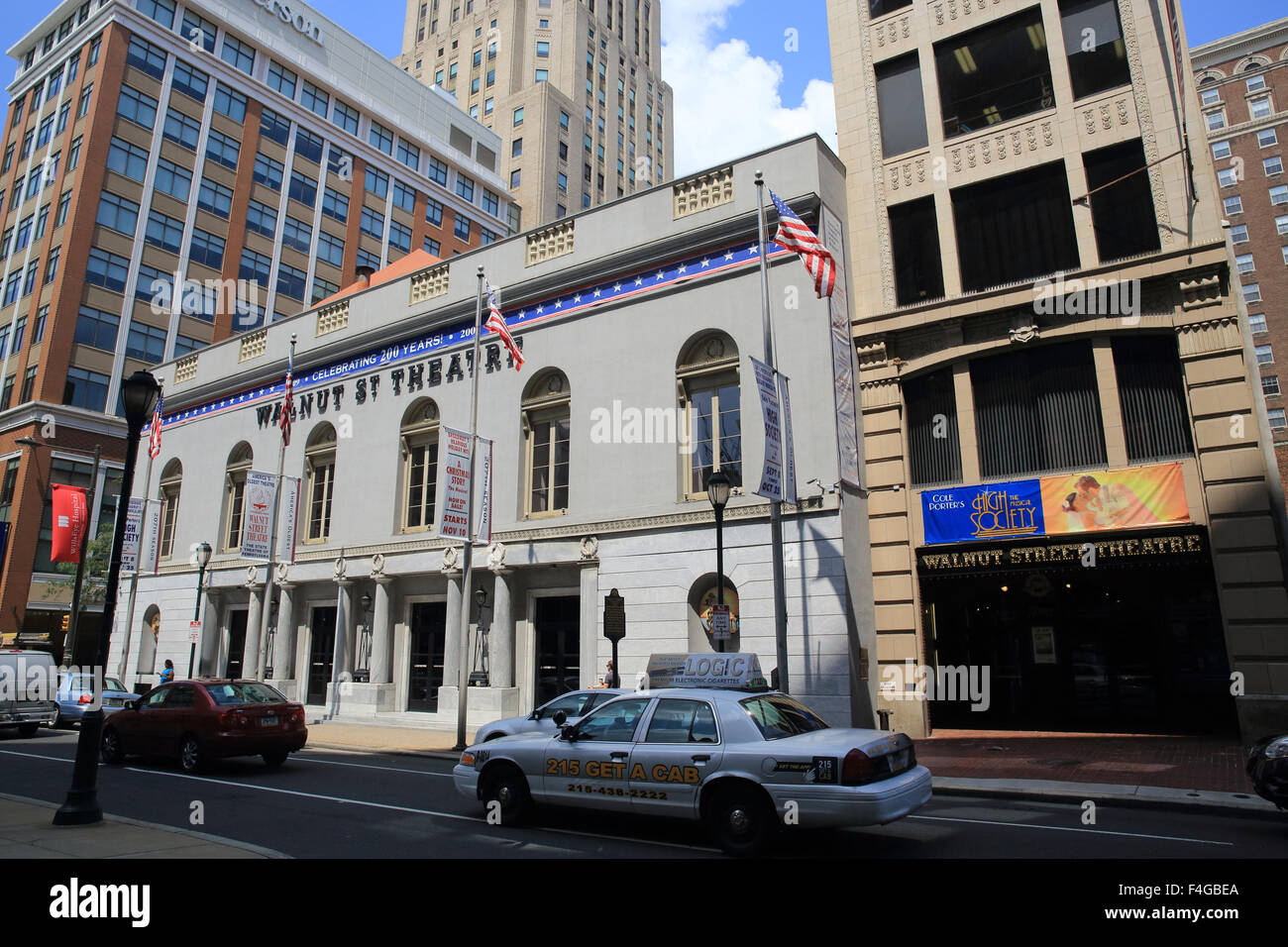 Walnut Street Theatre, in Philadelphia, Pennsylvania, the oldest theatre in the USA. - Stock Image
