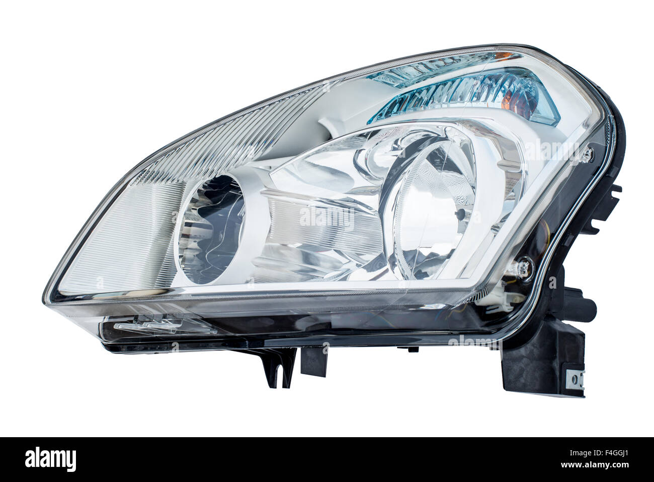 Headlight Close Up Cut Out Stock Images Pictures Alamy