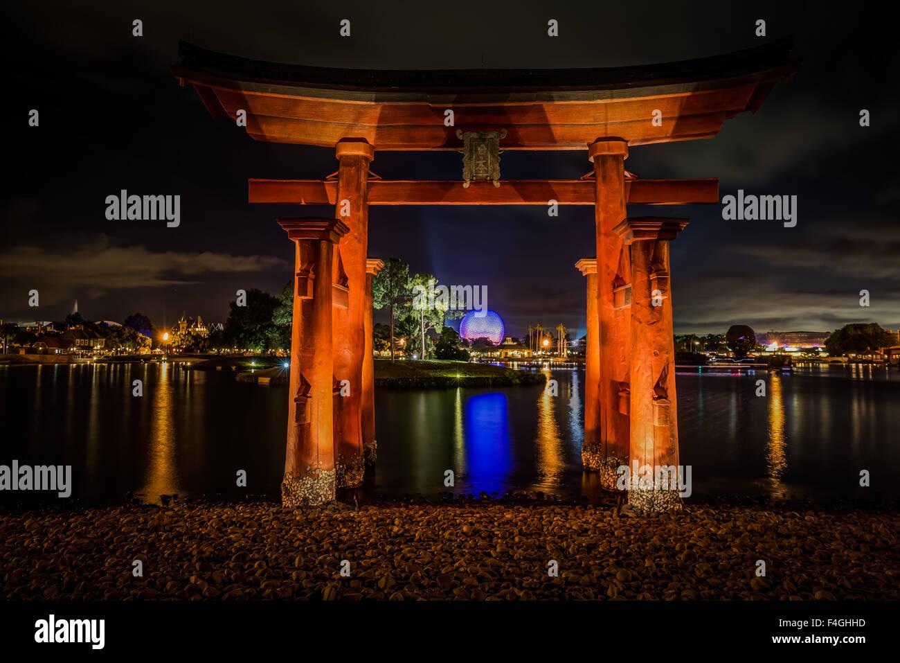 World Showcase - Japan - Stock Image