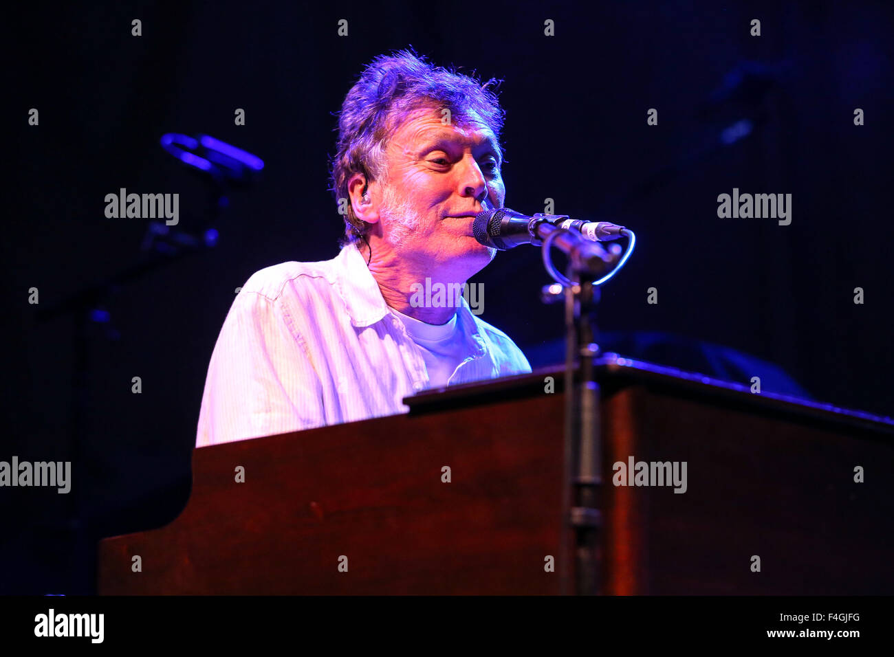Music artist STEVE WINWOOD brings his 2014 Summer Tour to Raleigh, NC.  Stephen Lawrence 'Steve' Winwood - Stock Image