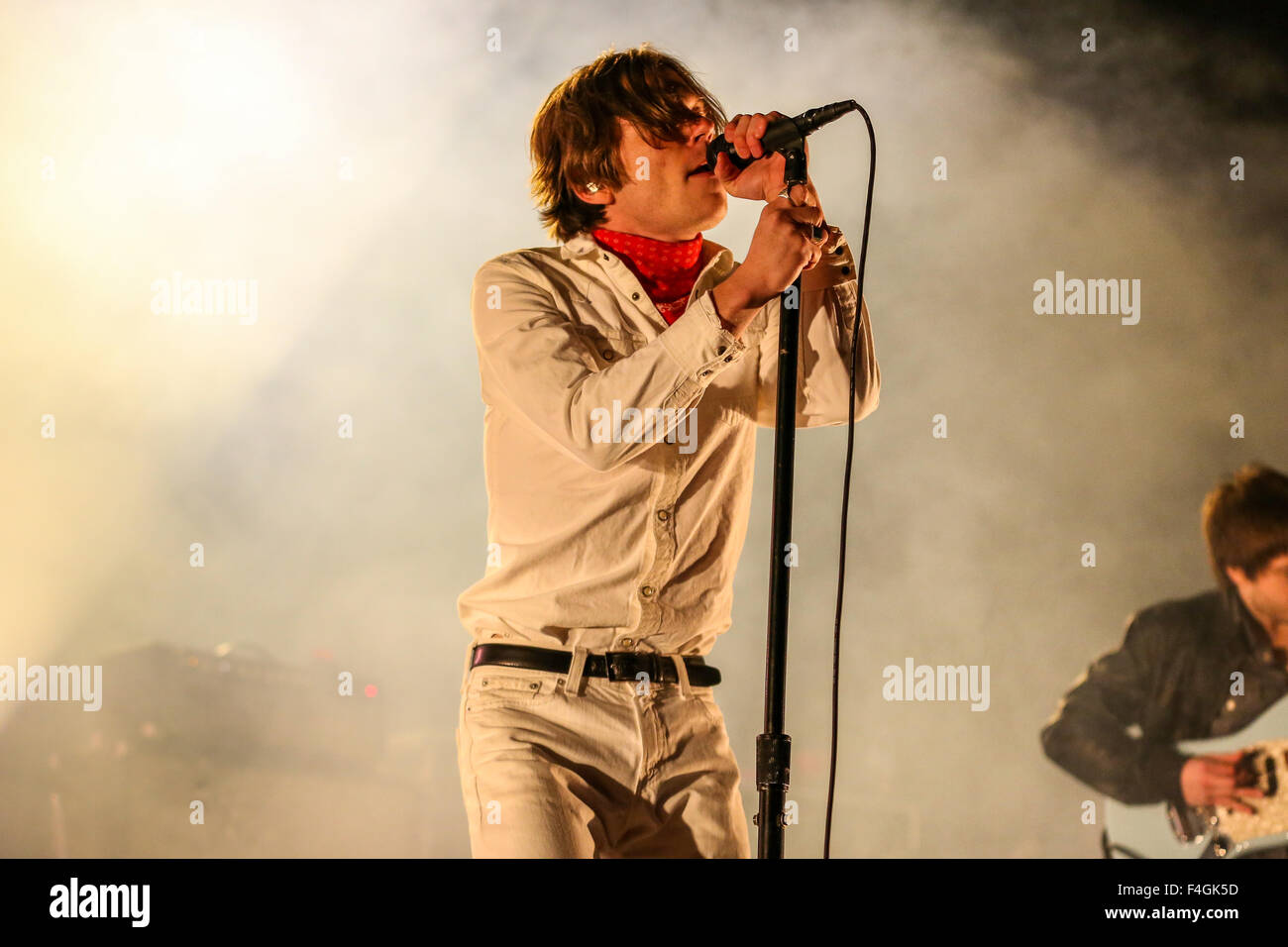 Cage the Elephant performs live in concert - Stock Image
