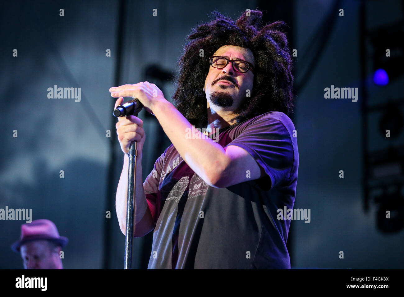 Counting Crows perform live in concert - Stock Image