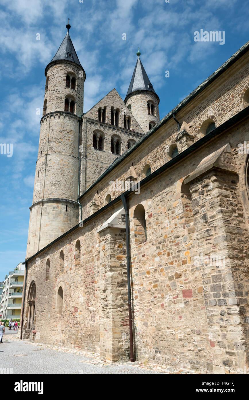 Monastery complex of Our Beloved Ladies (Kloster Unser Lieben Frauen) in Magdeburg, Germany - Stock Image