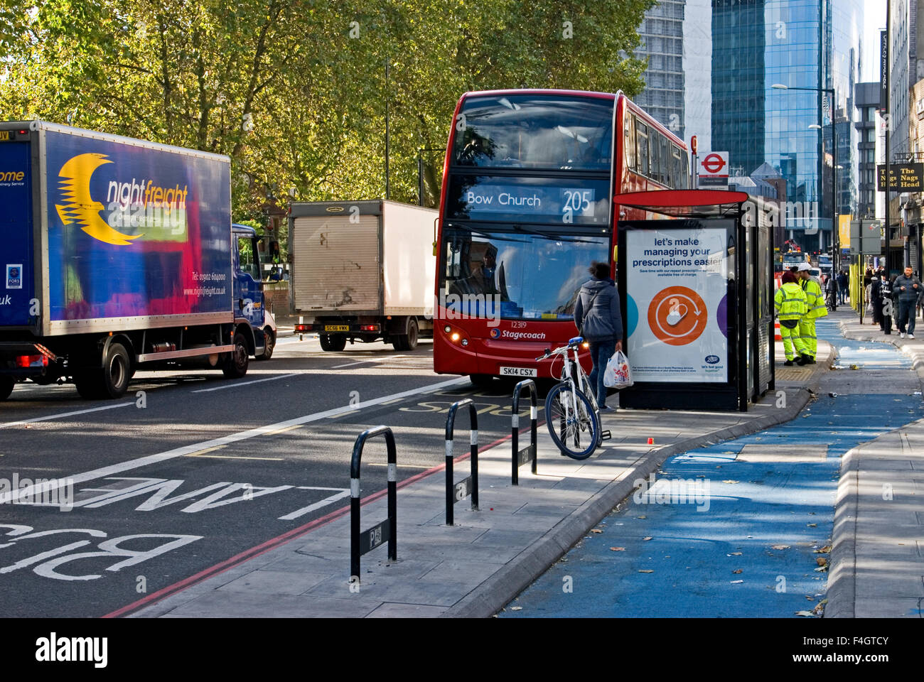 Transport Van Infrastructure Stock Photos & Transport Van