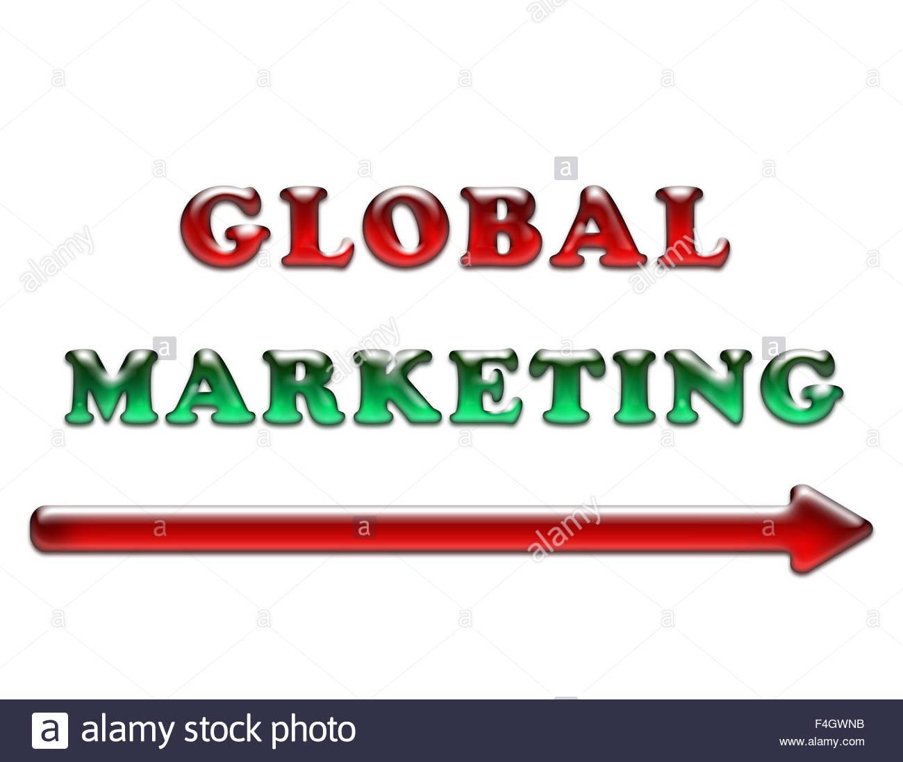 Global Marketing - Stock Image