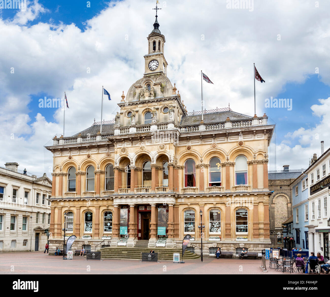 The Town Hall, Ipswich, Suffolk, England, UK - Stock Image